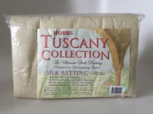World Quilting Day Giveaway Prize #6: Hobbs Throw-Sized Tuscany Silk Batting (image)
