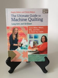 World Quilting Day Giveaway Prize #4: The Ultimate Guide to Machine Quilting Book (image)