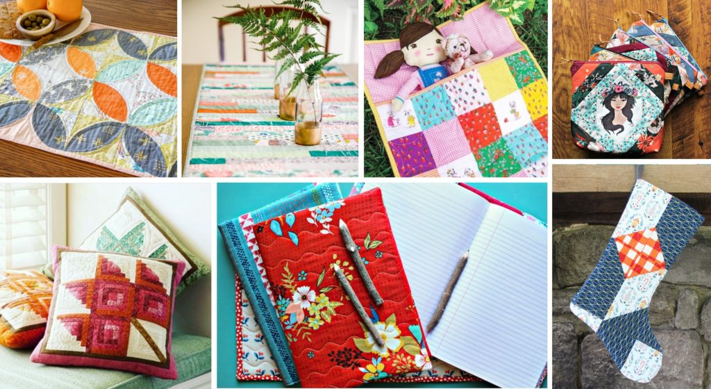 image: collage of projects made with quilt batting