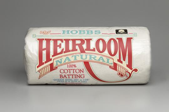 Heirloom® Premium 100% Natural Cotton - Hobbs Quilt Batting Hobbs ... : hobbs polydown quilt batting - Adamdwight.com