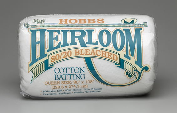 Hobbs Heirloom® Premium 80/20 Bleached Cotton Blend Batting (image)