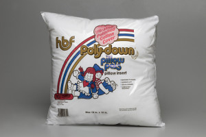 Hobbs Poly-Down Pillow Pals Pillow Insert with Ultrasoft Polished Cotton Cover (image)