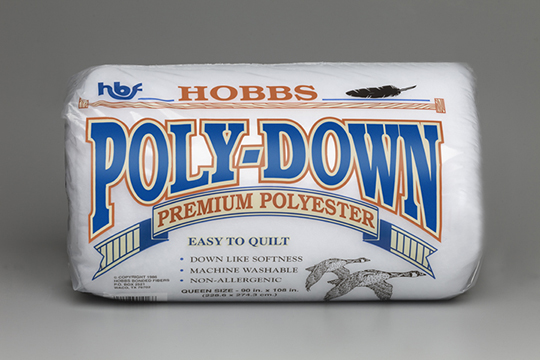 Hobbs Poly-Down Polyester Batting (image)