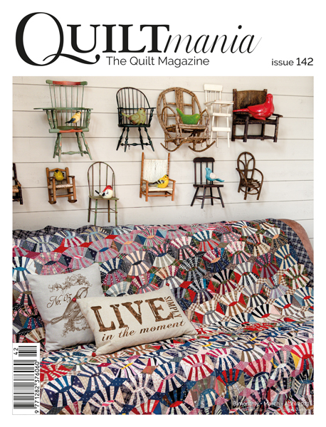 image: QuiltMania Magazine - Issue 142 - March/April 2021
